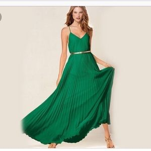 Bar lll Pleated Maxi Dress